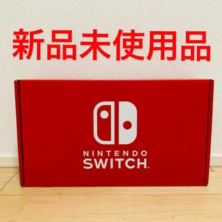 Nintendo Switch - 【新品】Switch本体セット(ネオンブルー)