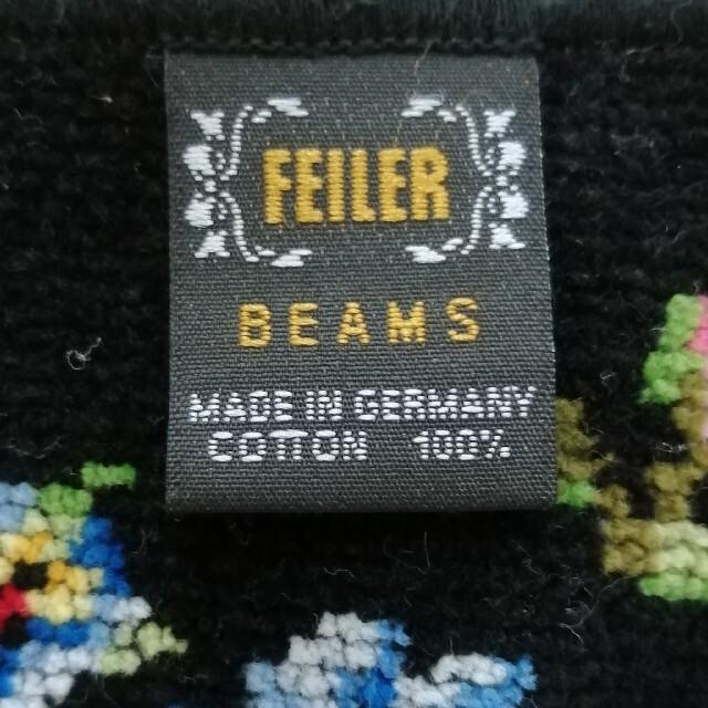 FEILER(フェイラー)のフェイラー ミッキー柄 BEAMSコラボハンカチ 中古 レディースのファッション小物(ハンカチ)の商品写真