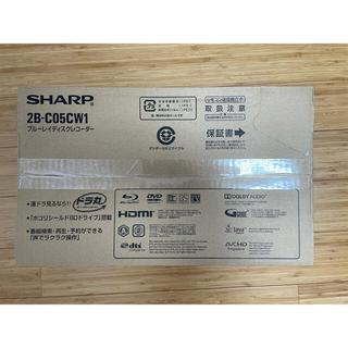 アクオス(AQUOS)の2021/6月購入 SHARP AQUOS ブルーレイ 2B-C05BW1(ブルーレイレコーダー)