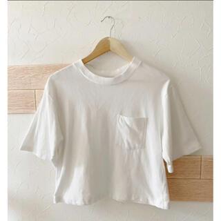 ジーナシス(JEANASIS)の★JEANASIS♡モックネックTシャツ★(Tシャツ(半袖/袖なし))