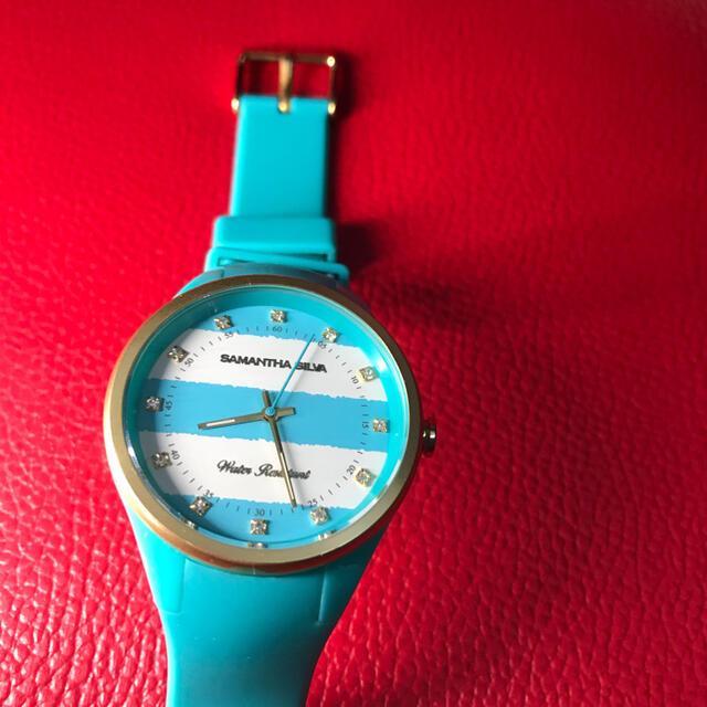 Samantha Silva(サマンサシルヴァ)のSAMANTHA SILVA ブルー レディースのファッション小物(腕時計)の商品写真