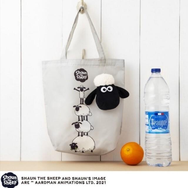 ラスト1個★ひつじのショーン★InRed付録ぬいぐるみポーチ&エコバッグ レディースのバッグ(エコバッグ)の商品写真