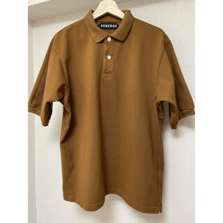 コモリ(COMOLI)のAUBERGE オーベルジュ ポロシャツ NIVEN / フレラコ キャメル(ポロシャツ)