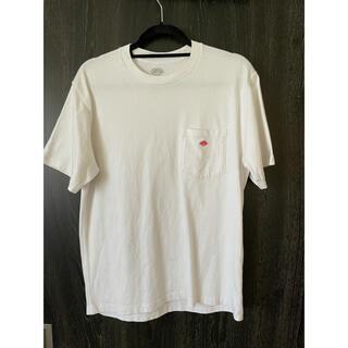 ダントン(DANTON)のダントン ポケットTシャツ ホワイト 40サイズ(Tシャツ/カットソー(半袖/袖なし))