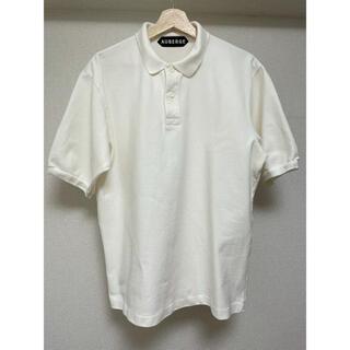 コモリ(COMOLI)のAUBERGE オーベルジュ ポロシャツ NIVEN / フレラコ ホワイト(ポロシャツ)