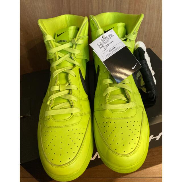 NIKE(ナイキ)のNIKE × AMBUSH DUNK HIGH アンブッシュ ダンク 30cm メンズの靴/シューズ(スニーカー)の商品写真