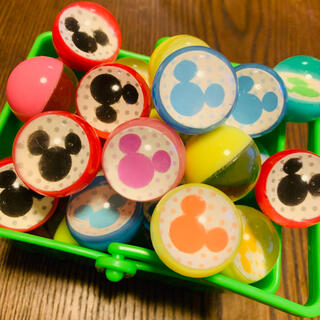 Disney - 80 スーパーボール Disney ミッキー ミニー 20個 縁日 すくい