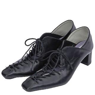 アメリヴィンテージ(Ameri VINTAGE)のAmeriVINTAGE 新作完売品 レースアップバブーシューズ(ローファー/革靴)