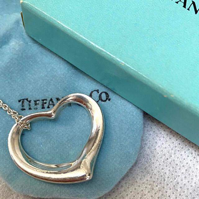 Tiffany & Co.(ティファニー)のTiffany オープンハートネックレス ペレッティ レディースのアクセサリー(ネックレス)の商品写真