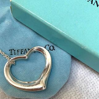 Tiffany & Co. - Tiffany オープンハートネックレス ペレッティ