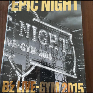 B'zライブパンフレット EPIC NIGHT(ミュージシャン)