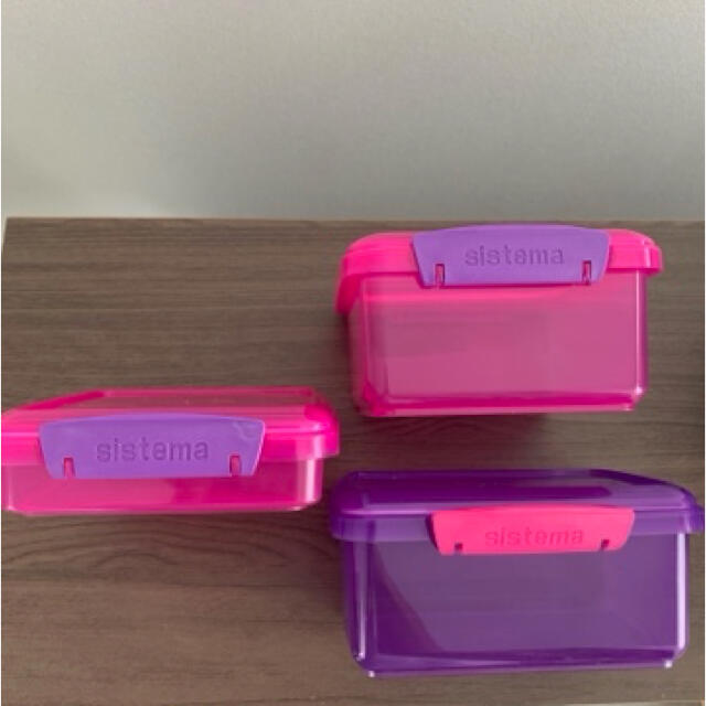 sistema タッパー ランチボックス お弁当箱 システマ サンドイッチケース インテリア/住まい/日用品のキッチン/食器(弁当用品)の商品写真