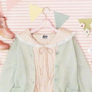 ケイティー(Katie)の新品 Katie セーラー襟 ワンピース ピンク(ひざ丈ワンピース)