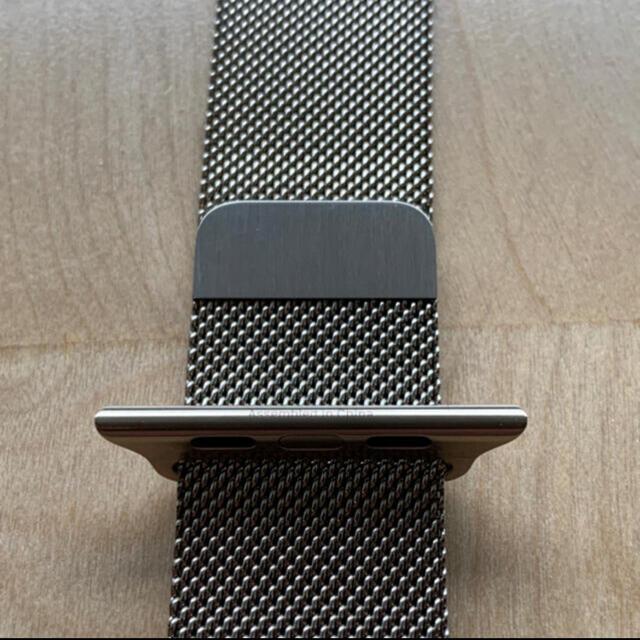 Apple Watch(アップルウォッチ)のApple Watch 純正 ミラネーゼループ ゴールド 44mm スマホ/家電/カメラのスマホ/家電/カメラ その他(その他)の商品写真