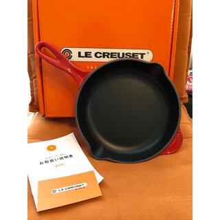LE CREUSET - 【新品未使用】ル・クルーゼ スキレット ホーローフライパン