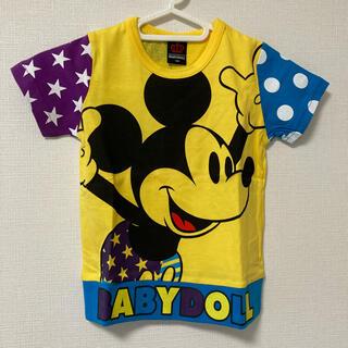 BABYDOLL - 新品 Tシャツ 110 ベビードール ミッキーマウス