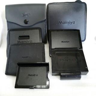 マミヤ(USTMamiya)のペンタックス、マミヤ645.67等キャップ類6点セット(フィルムカメラ)