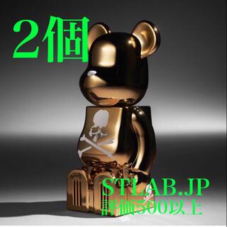 メディコムトイ(MEDICOM TOY)の2個 cleverin BE@RBRICK mastermind JAPAN(その他)