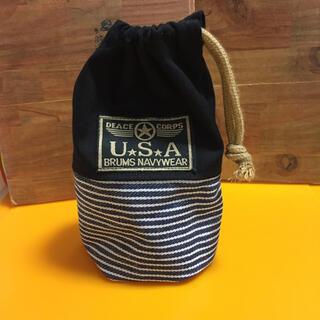 ハンドメイド巾着袋(外出用品)