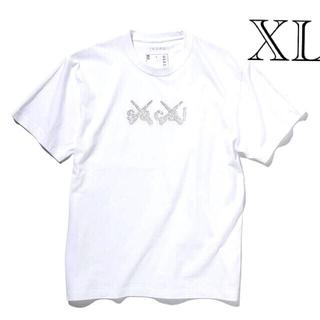 sacai - sacai x KAWS Print Tシャツ ホワイト サイズ3 XL 新品