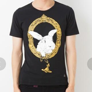 ヴィヴィアンウエストウッド(Vivienne Westwood)のviviennewestwood  額縁 ラビット 半袖 Tシャツ(Tシャツ/カットソー(半袖/袖なし))