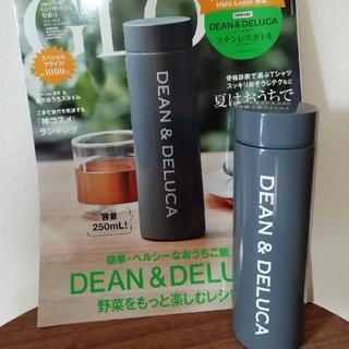ディーンアンドデルーカ(DEAN & DELUCA)のGLOW付録 DEAN & DELUCA  ステンレスボトル チャコールグレー(水筒)