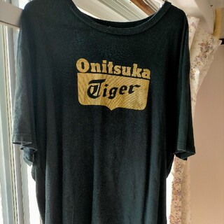 オニツカタイガー(Onitsuka Tiger)の半袖Tシャツ(Tシャツ/カットソー(半袖/袖なし))
