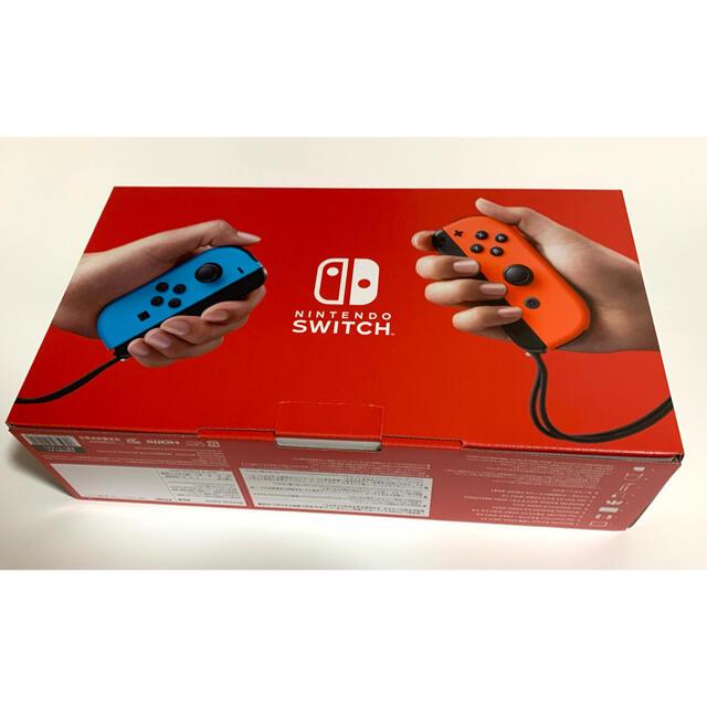 任天堂(ニンテンドウ)のニンテンドースイッチ Nintendo Switch 本体 JOY-CON エンタメ/ホビーのゲームソフト/ゲーム機本体(家庭用ゲーム機本体)の商品写真