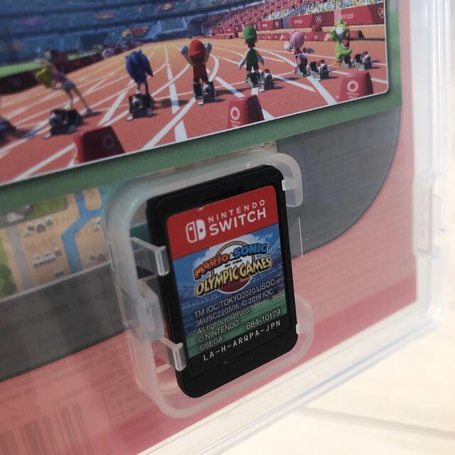 Nintendo Switch(ニンテンドースイッチ)のマリオ&ソニック AT 東京2020オリンピックTM Switch エンタメ/ホビーのゲームソフト/ゲーム機本体(家庭用ゲームソフト)の商品写真