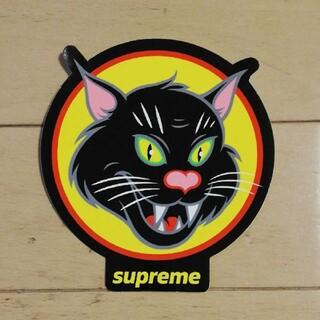 Supreme - SUPREME BLACK CAT STICKER