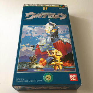 スーパーファミコン(スーパーファミコン)のSFC ウルトラセブン 箱説あり(家庭用ゲームソフト)