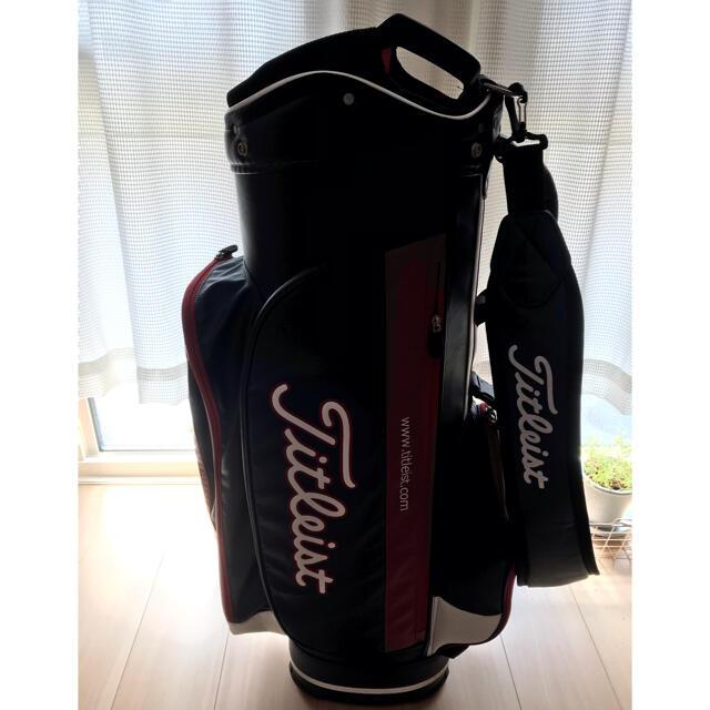 Titleist(タイトリスト)のタイトリスト キャディーバック スポーツ/アウトドアのゴルフ(バッグ)の商品写真
