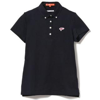 BEAMS - BEAMS GOLF ORANGE LABEL ボタンダウン 鹿の子 ポロシャツ