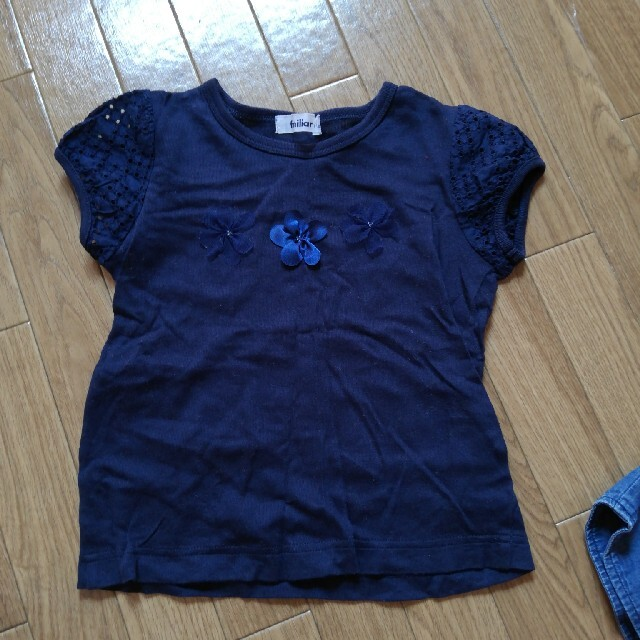 familiar(ファミリア)のfamiliar Tシャツ 110 キッズ/ベビー/マタニティのキッズ服女の子用(90cm~)(Tシャツ/カットソー)の商品写真