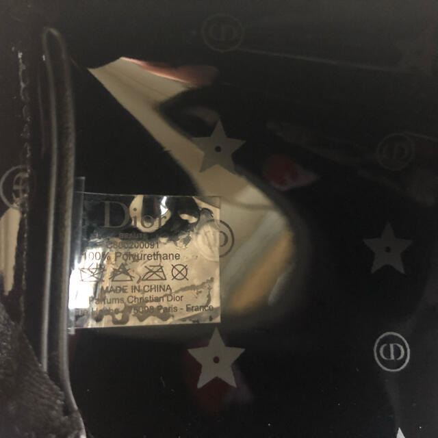 Christian Dior(クリスチャンディオール)のディオール Dior   ポーチ 新品 ブラック レディースのファッション小物(ポーチ)の商品写真