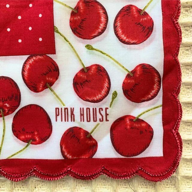 PINK HOUSE(ピンクハウス)のピンクハウスハンカチ レディースのファッション小物(ハンカチ)の商品写真