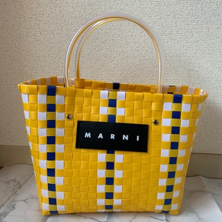 Marni - 【ラスイチ】 MARNI マルニ カフェ ピクニック バッグ レディース 黄