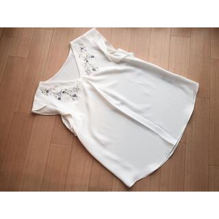 アプワイザーリッシェ(Apuweiser-riche)のアプワイザーリッシェ❁フラワー刺繍ゆるブラウス❁(シャツ/ブラウス(半袖/袖なし))
