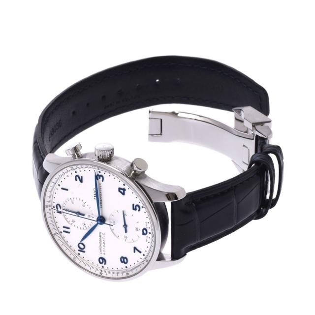 IWC(インターナショナルウォッチカンパニー)のアイダブリューシー シャフハウゼン  ポルトギーゼ クロノグラフ 腕時計 メンズの時計(腕時計(アナログ))の商品写真