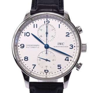 インターナショナルウォッチカンパニー(IWC)のアイダブリューシー シャフハウゼン  ポルトギーゼ クロノグラフ 腕時計(腕時計(アナログ))