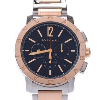 ブルガリ(BVLGARI)のブルガリ  ブルガリブルガリ クロノグラフ 裏スケ 腕時計(腕時計(アナログ))