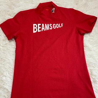 BEAMS - ビームス 超美モックネック Mサイズ ポロシャツ タートル モックネック ゴルフ