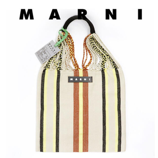 Marni - 新品 MARNI ハンモックバック エクリュ