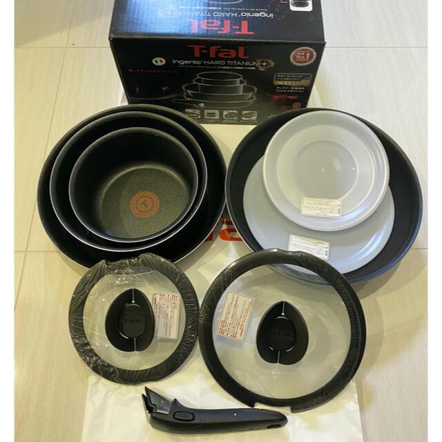 T-fal(ティファール)のティファール インジニオネオ 9点セット  インテリア/住まい/日用品のキッチン/食器(鍋/フライパン)の商品写真