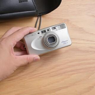 コニカミノルタ(KONICA MINOLTA)の作例付 動作確認 電池付 Minolta Capios125 フイルムカメラ(フィルムカメラ)