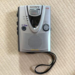 ソニー(SONY)の専用★SONYカセットコーダーTCM-400(ポータブルプレーヤー)