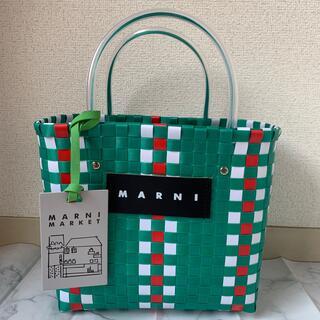 Marni - 【限定sale】 MARNI マルニ カフェ ピクニック バッグ レディース 緑