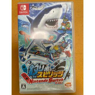 バンダイナムコエンターテインメント(BANDAI NAMCO Entertainment)の釣りスピリッツ(家庭用ゲームソフト)