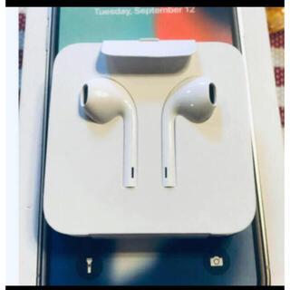 Apple - 新品 アップル 純正 iPhone X 付属品 イヤホン ライニングタイプ