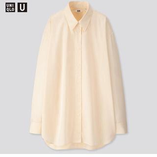 UNIQLO - ユニクロUオーバーサイズシャツ